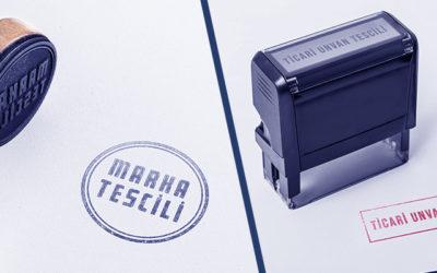 Marka Tescili ile Ticari unvan tescili arasındaki fark nedir?